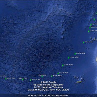 Croisière Guadeloupe parcours