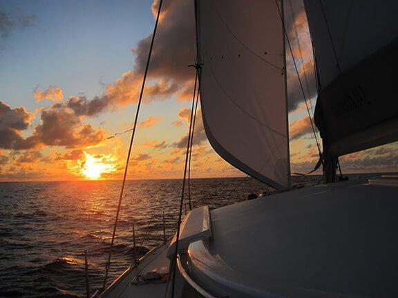 couche de soleil en guadeloupe