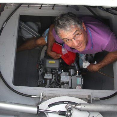 Croisière Guadeloupe moteur de tiprens
