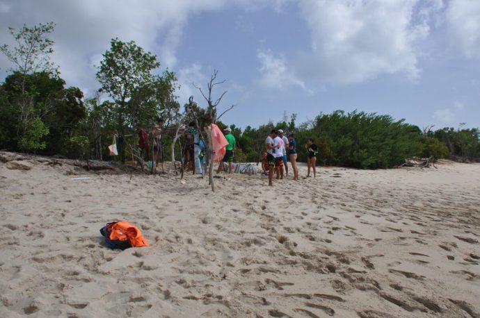 Croisière Guadeloupe campement