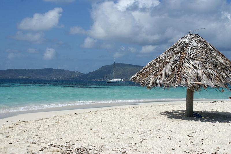 croisière Guadeloupe à l'ombre