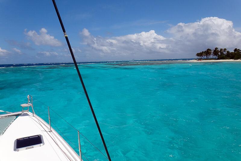 croisière Guadeloupe lagon bleu